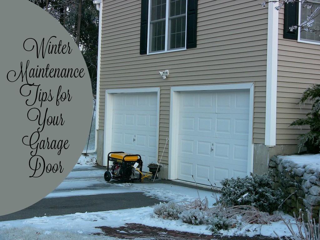 Captivating #436F88 Garage Door Winter Maintenance Tips Download Finding The Best Garage  Garage Door Opener Repair