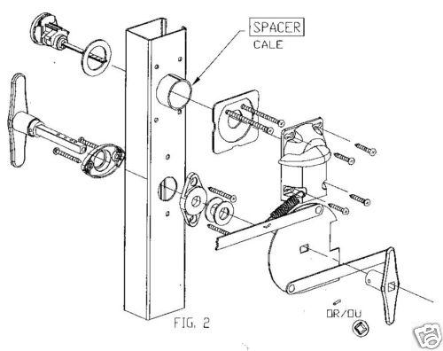 push bar mounting brackets