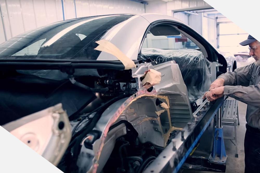 Aluminum Auto Body Repair Garber Collision Center