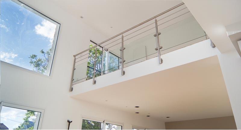 rambarde mezzanine une s curit et un esth tisme ne pas. Black Bedroom Furniture Sets. Home Design Ideas