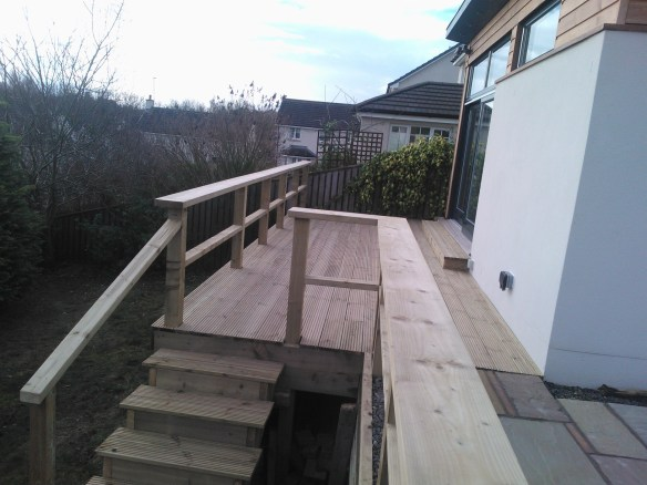 garden decking edinburgh