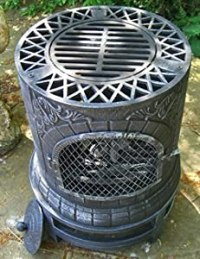 Castmaster Mexican Style Cast Iron Wood Fired Chiminea ...