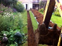 Fitting bathroom & kitchen services to a garden building ...