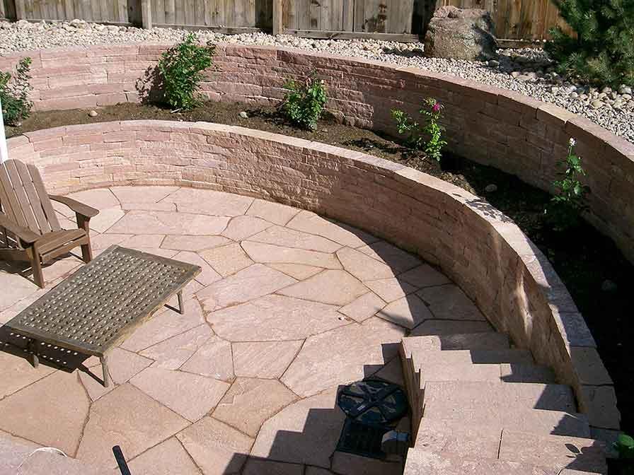 Patios Walls Garden Art Lamdscaping