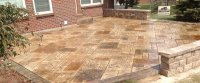Stamped concrete patio ideas - Gardening flowers 101 ...