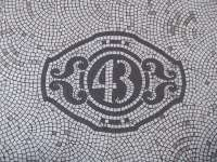 Curb Appeal: Black-and-White Mosaic Tile, from London with ...