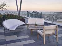 On the Hot Seat: Heated Outdoor Furniture from Galanter ...