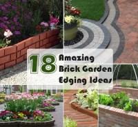 18 Brick Garden Edging Ideas That Looks Amazing | Gardenoid