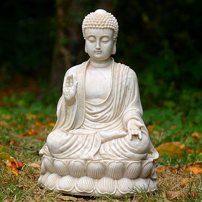3d Garden Wallpaper Free Sitting Medium Thai Buddha Garden Statue Ornament