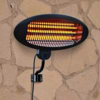 La Hacienda Wall Mounted 2000W Patio Heater | Garden Street