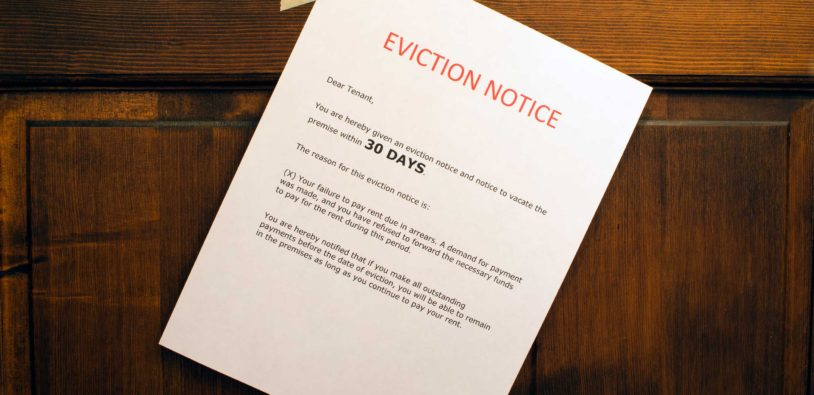 Eviction Basics for Landlords Part III The 30 Day Eviction Notice