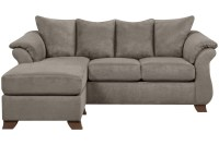 Microsuede Sofa Furniture Lovely Brown Microfiber Couch ...