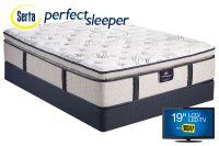 Serta Perfect Sleeper Dunkin Pillow Top Queen Mattress
