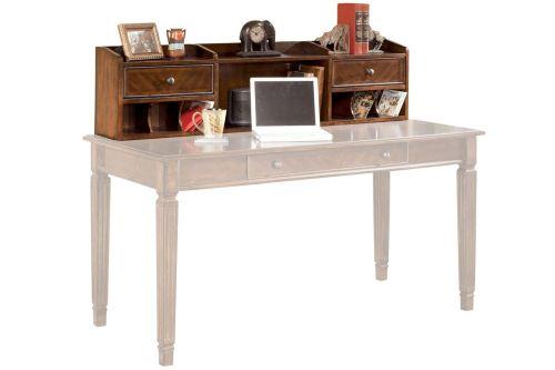 Medium Of White Desk With Hutch