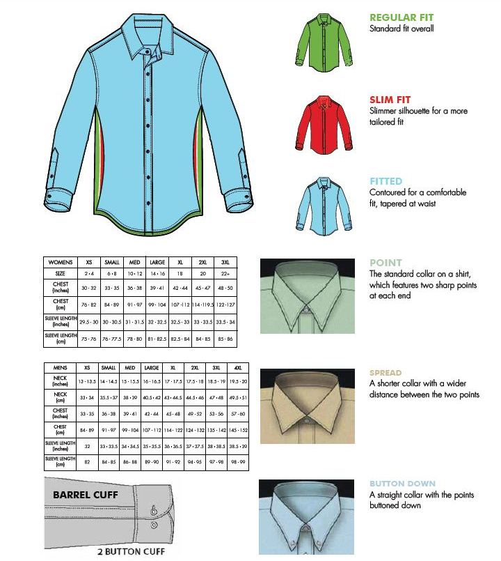 2014_Fit_Guide new mens dress shirt size chart masterlist foreignluxury co