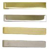 Brass Tie Bars - Uniform Neck Tie Bars | Garffshirts.com