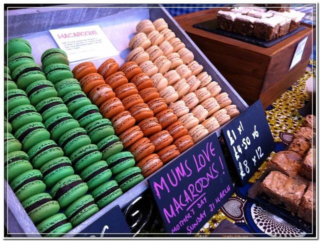 Portabello Market Macaroons