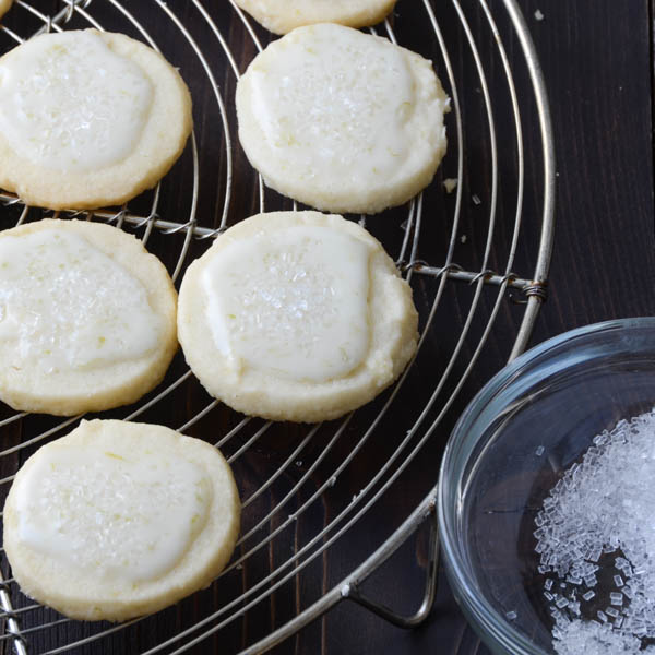 key lime sparkle cookies | Garlic + Zest