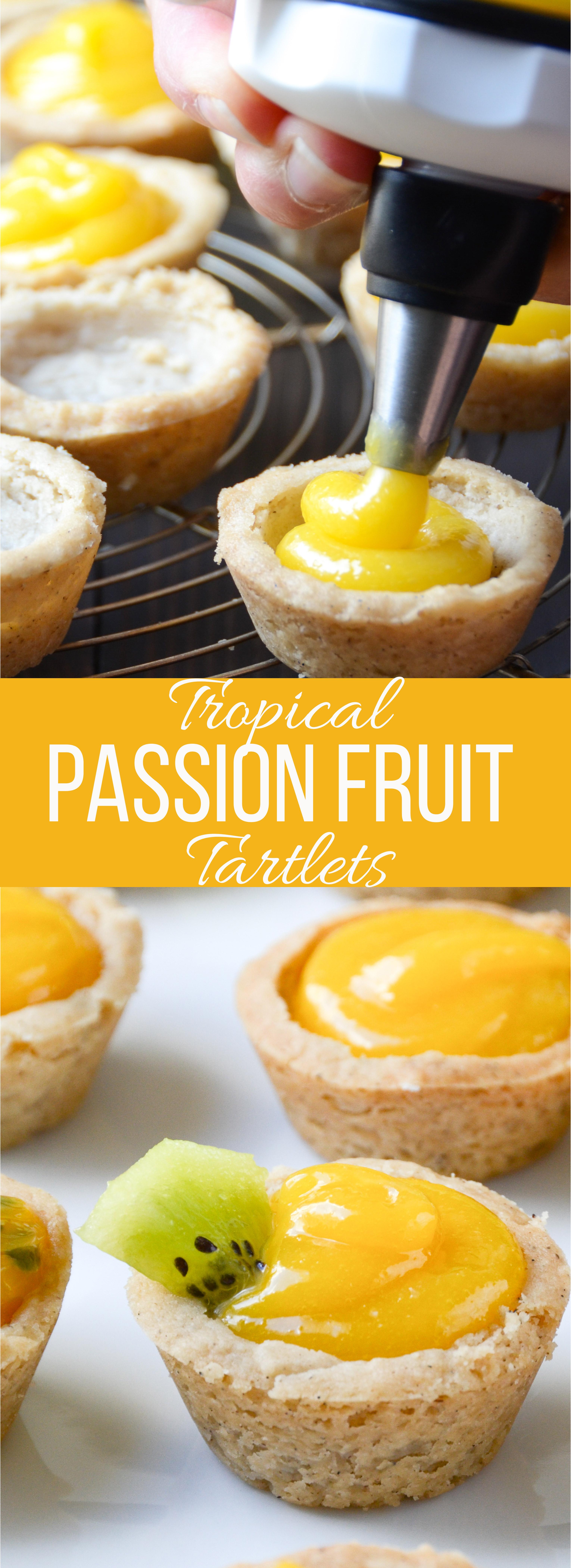 Tropical Passion Fruit Tartlets   Garlic + Zest