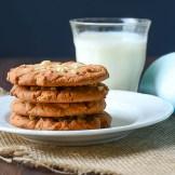 Peanut Butter Chip Cookies | Garlic + Zest