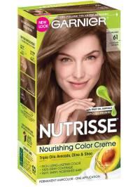 Nutrisse Nourishing Color Creme - Light Ash Brown 61 - Garnier