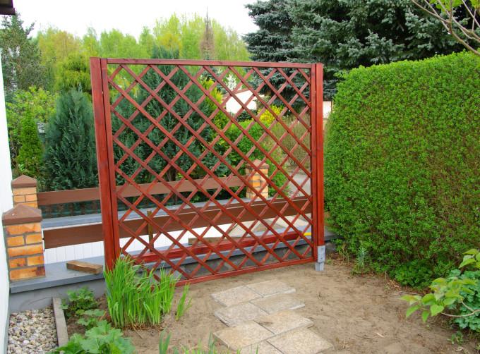 Rankgitter selber bauen Tipps zur Gartengestaltung - gartengestaltung tipps