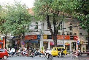 On the streets of Saigon