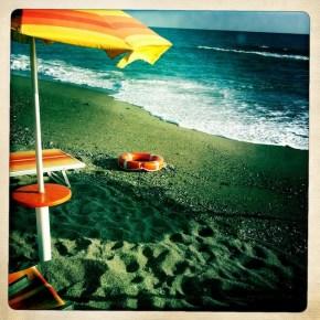 Strand bei Falerna
