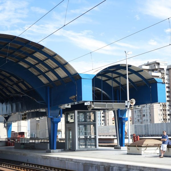 Main station Skopje 2016