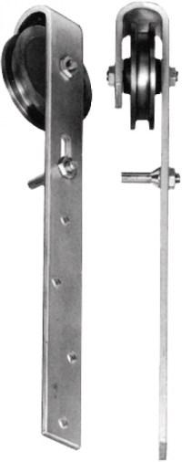 Schiebetrrollen - SCHIEBET ROLLEN KOMPL 60010 90 MM, 31,30