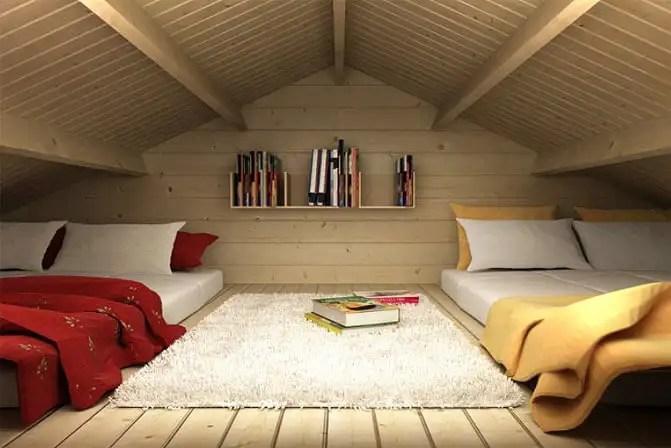 25 Qm Schlafzimmer Einrichten  Ein Gartenhaus Mit Schlafboden Mehr Platz Zum 220;bernachten