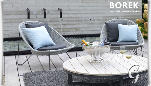 ... Garten Klubsessel »Pasturo« Aus Edelstahl U2022 Gartentraumde    Loungemobel Garten Terrasse ...