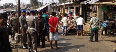 Penertiban Pasar Citeureup » Garuda Citizen truly of Indonesia