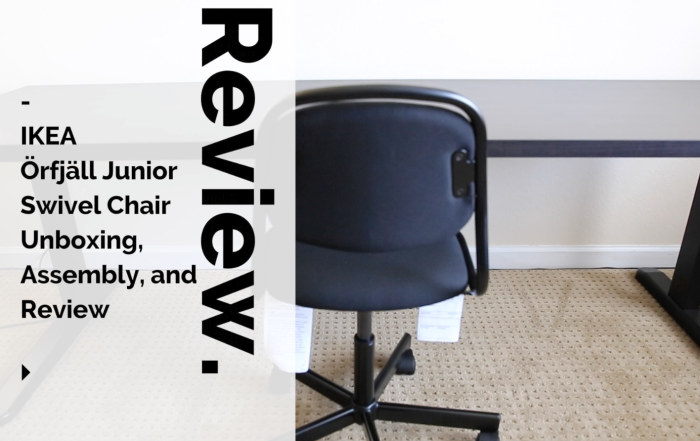 IKEA Örfjäll Junior Swivel Chair Unboxing, Assembly, and Review