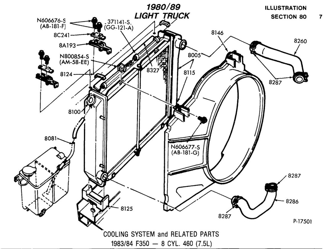 ford 460 wiring diagram