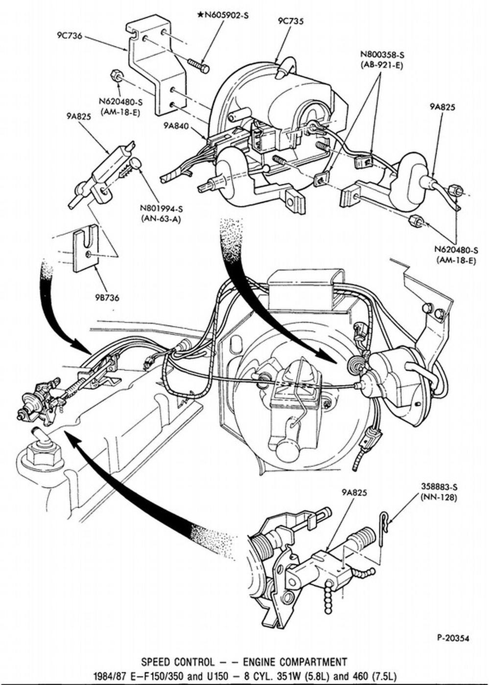 1988 ford f 150 5 8 engine diagram