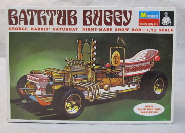Monogram Car Truck Vintage Out Of Production Plastic