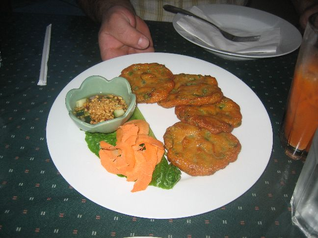 tasty thai fish cakes