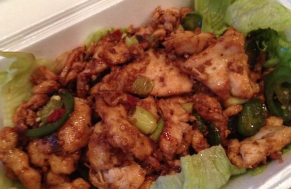 chicken in lemongrass sauce