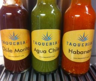 taqueria 27 sauces