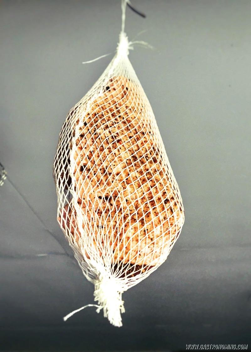 Jamón de pato casero