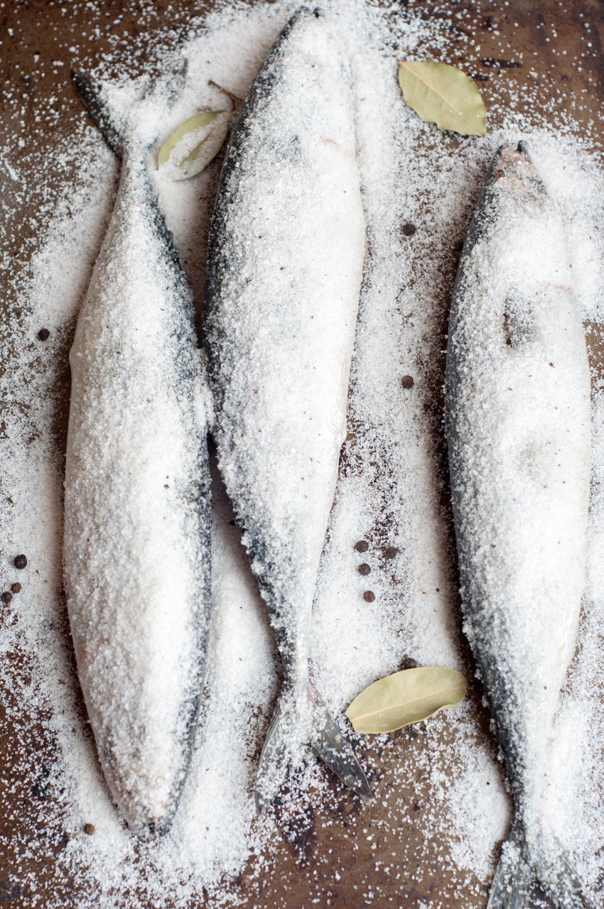 how to salt dry fish russina