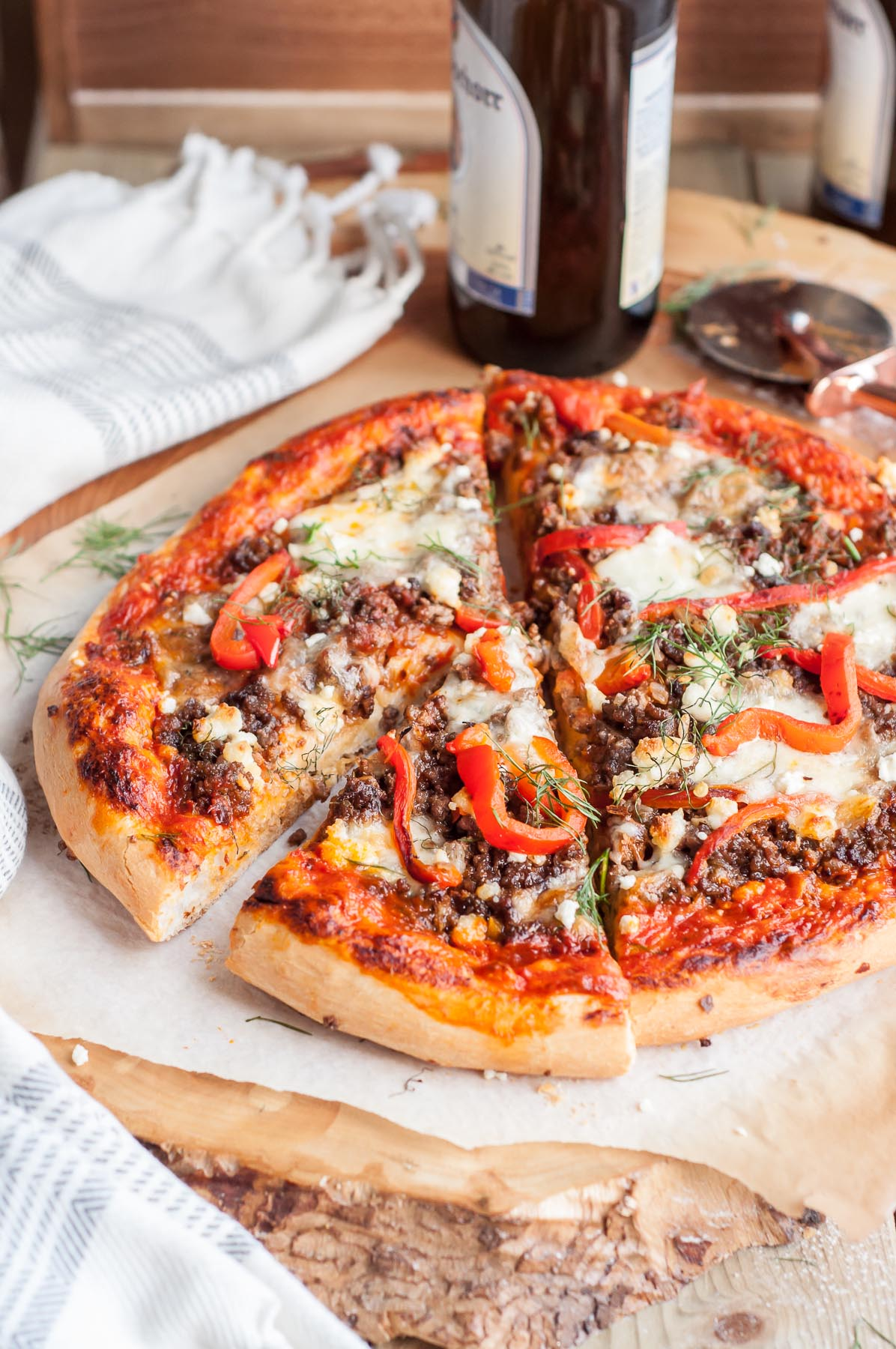 Homemade Pizza with Killer Sauce
