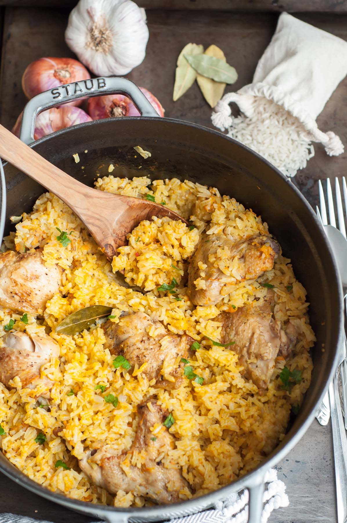one pot chicken and rice pilaf gastrosenses
