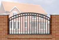 Railings Wrought Iron Style for Wall Mounting, Gates ...