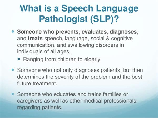 Speech/Language / Meet the Speech and Language Pathologists