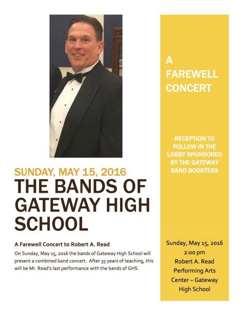 Bob Final Concert Flyer