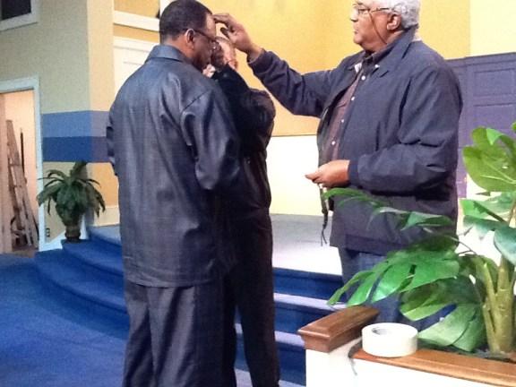 Pastor Carlton Jones