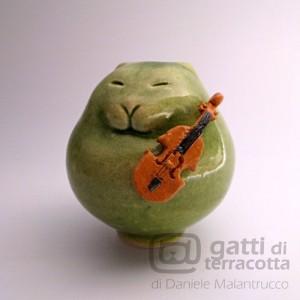 gatto e violino