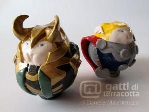 gatti Loki e Thor